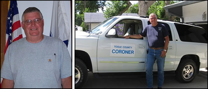 Toole County Coroner Dan Whitted